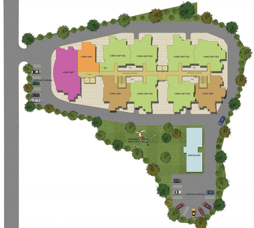 Design Arcade Apartments Site Plan